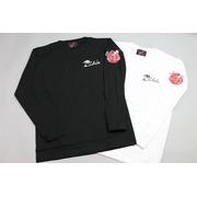 リップバックプリント ロングスリーブTシャツ