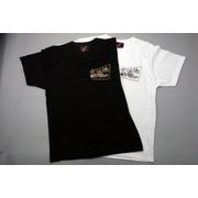 ラジオバックプリントTシャツ